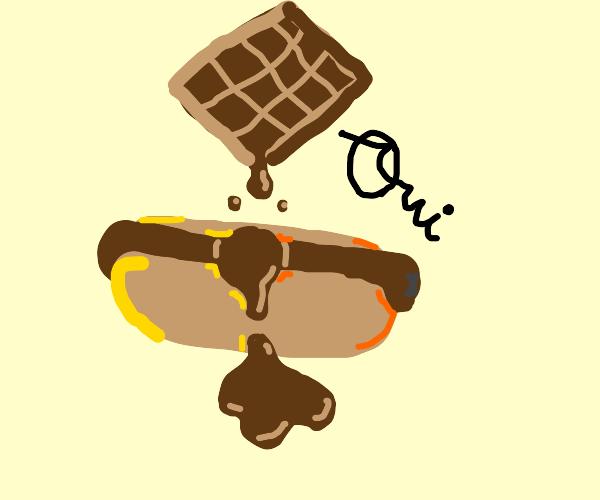 Le Hotte Dogge au Chocolat