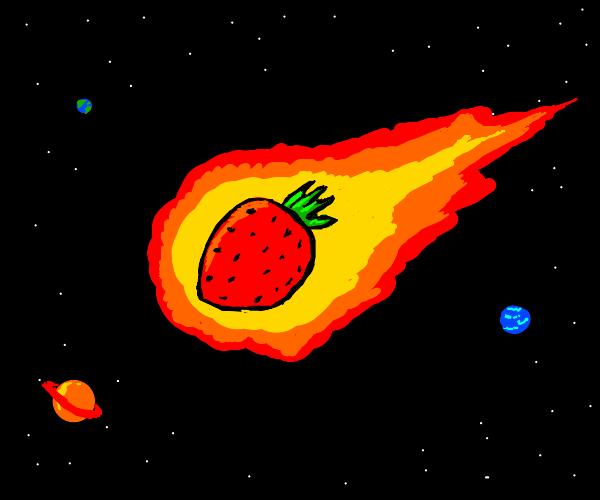 strawberry meteor