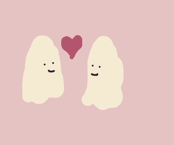 ghosts flirting