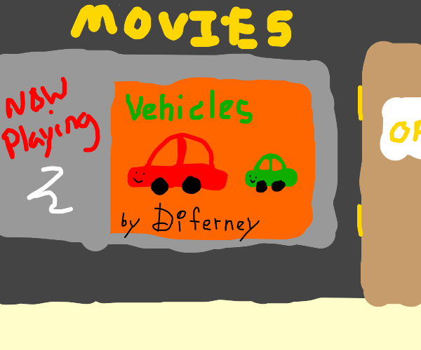 Car from Off-brand Cars movie