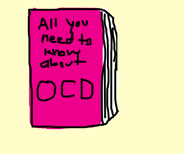 A pink book about ocd