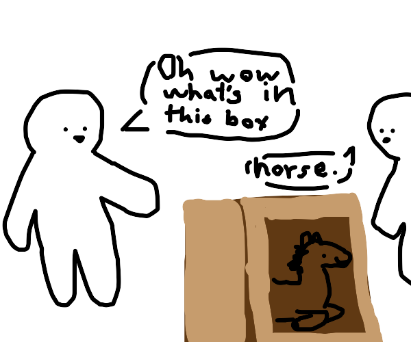 horse in the box