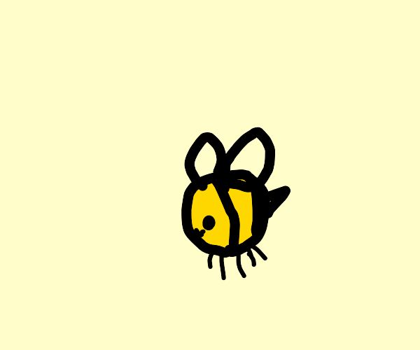 a fat bee