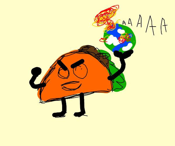 taco have wierd ideas