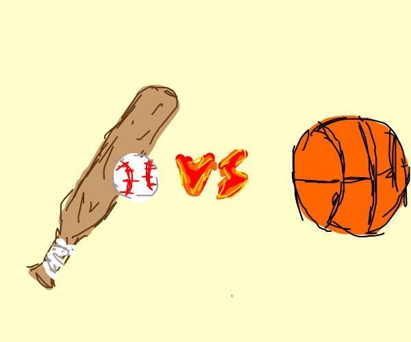 Baseball vs. Basketball
