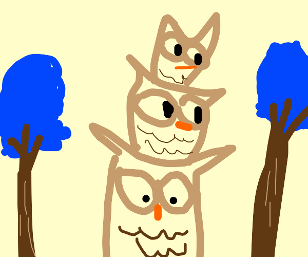 Towering Owl