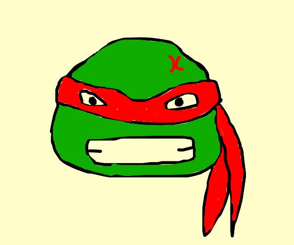 Raphael.  The turtle ninja
