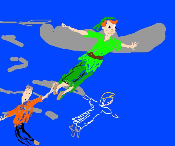 Peter Pan Taking People Away