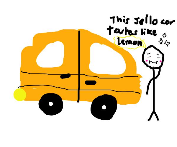 Jello car