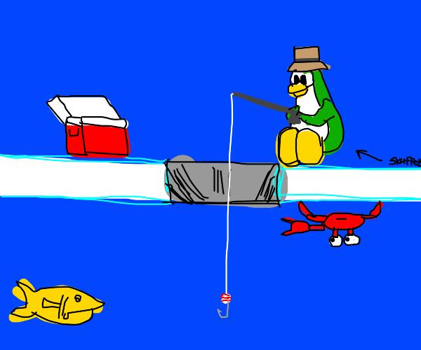 club penguin fishing minigame