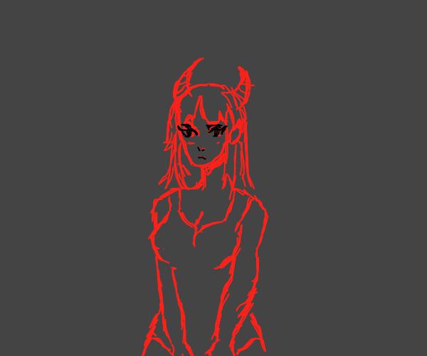 demonic babee