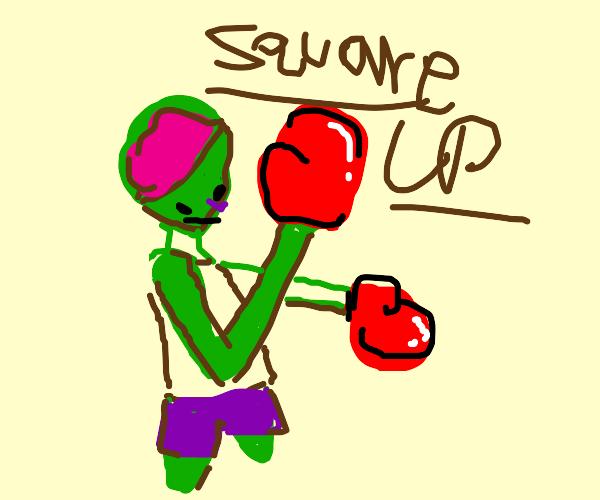 zombie fencer