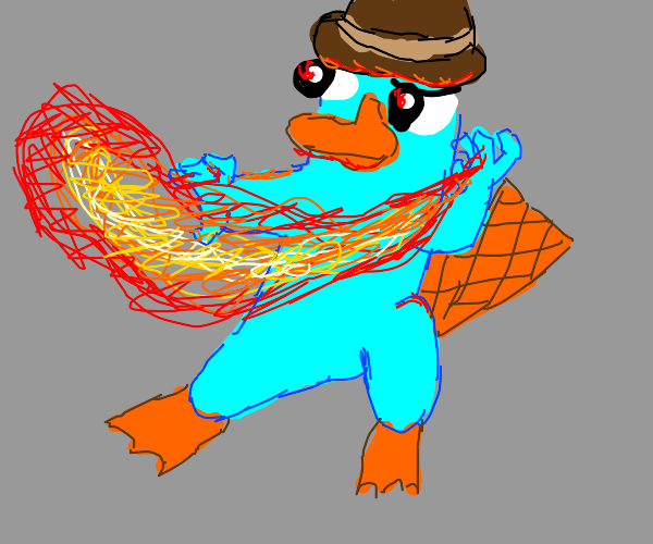 Perry The Platypus Firebender