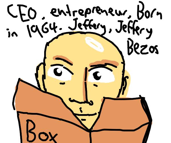 jeff bezos jbg box thing