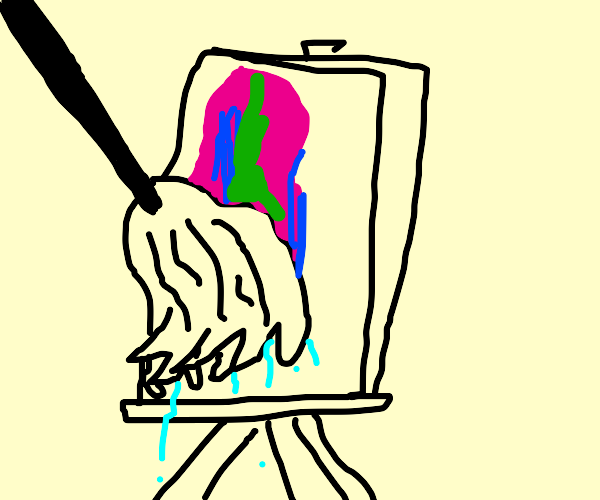 Painting with a Mop