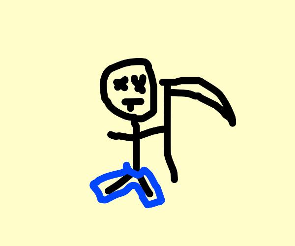 Grim Reaper wearing Pants