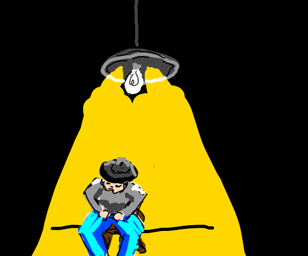 an interrogation room