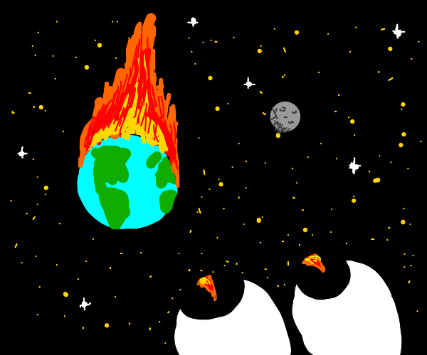 WATCH THE FLAMES CONSUME THE EARTH