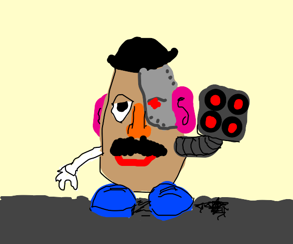 Mr. Potato Head from the Year 2500