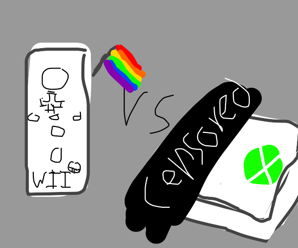 Gay Wii vs. Censored Xbox