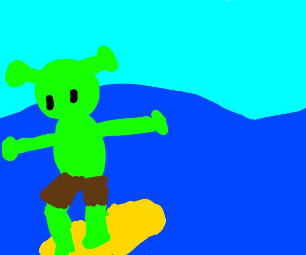 Ogre Surfing