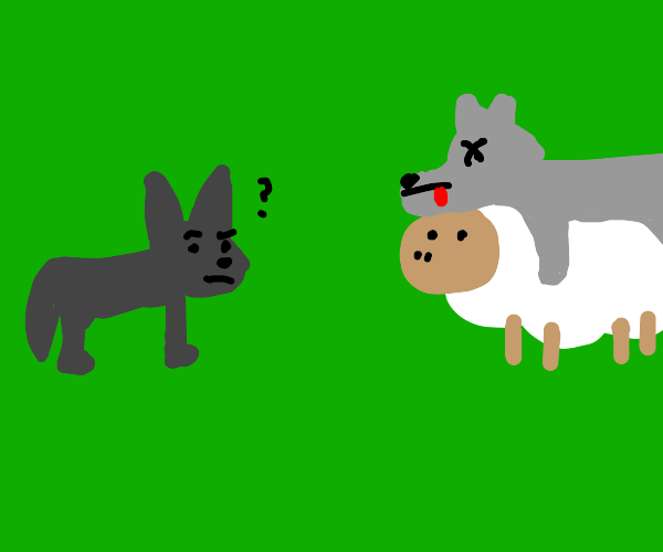 Sheep in wolf's clothes