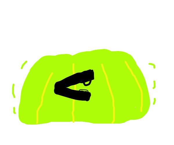 object in jello