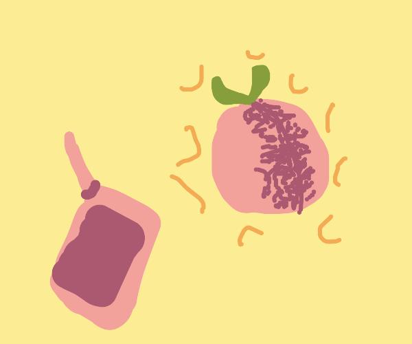 Peach Djinni from the Peach Can