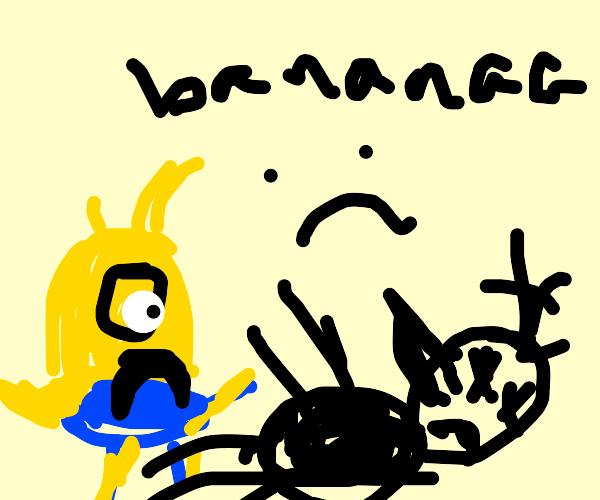 gru dead, now banana guys sad