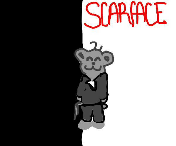 scarface teddy bear