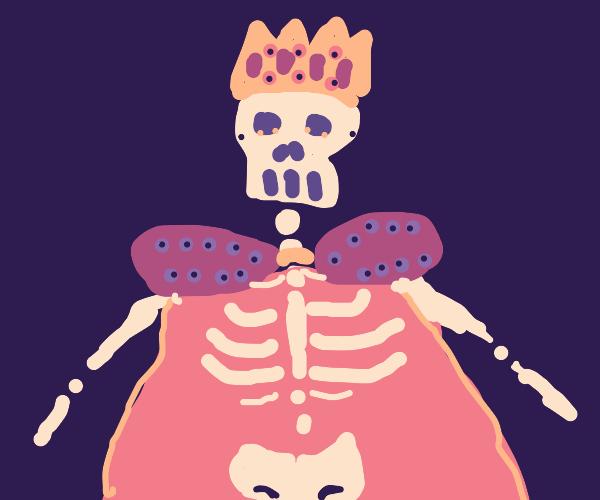 skeleton king got drip