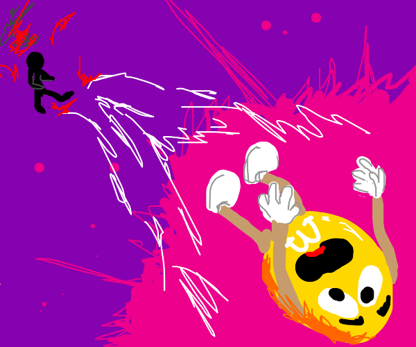 yellow mnm KICKED