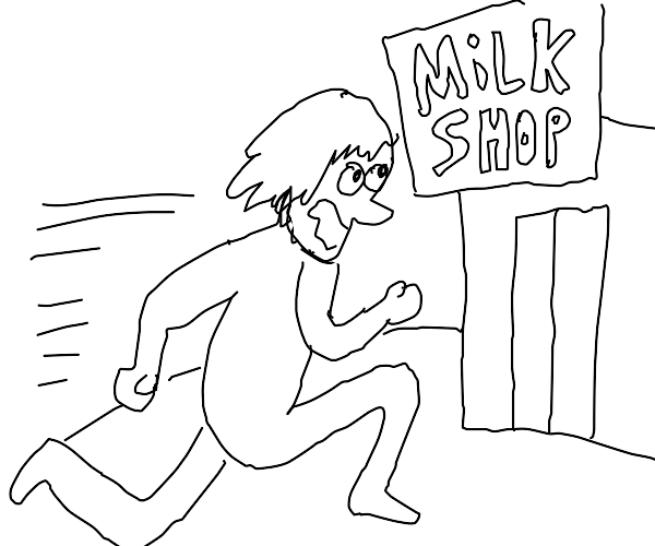 Going to the store to buy milk