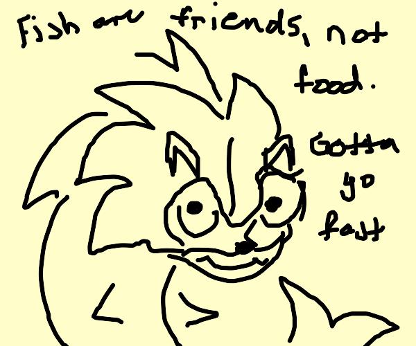 Sonic the sharkhog