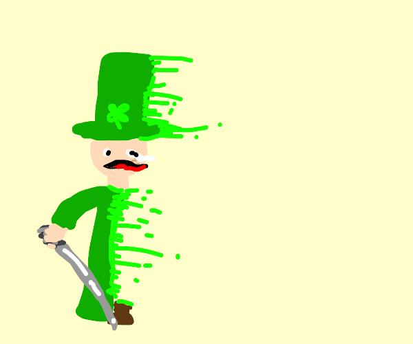 the disappearing leprechaun