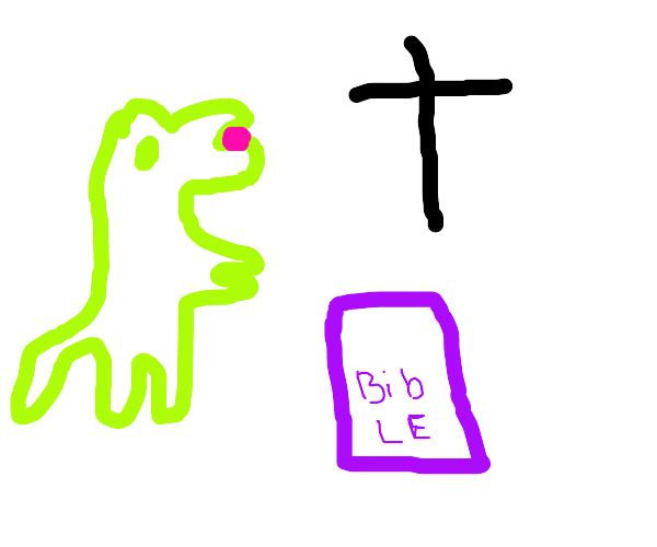 Dinosaur approves of your sinful disposition!