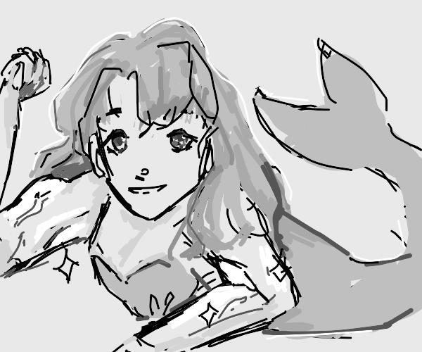 buff mermaid