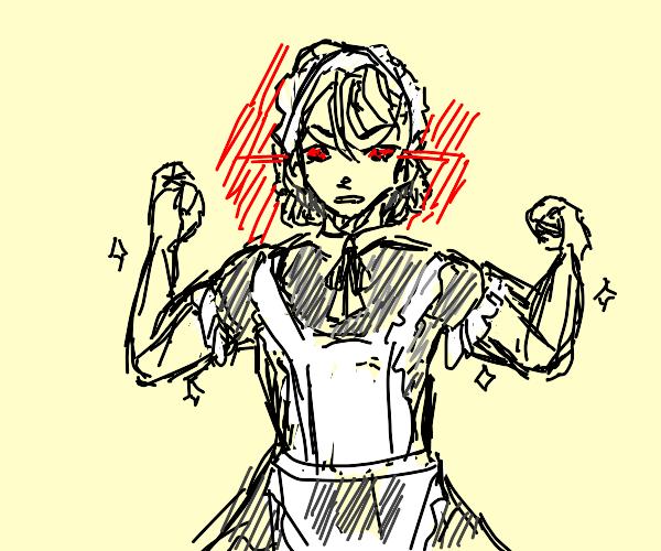 evil buff maid