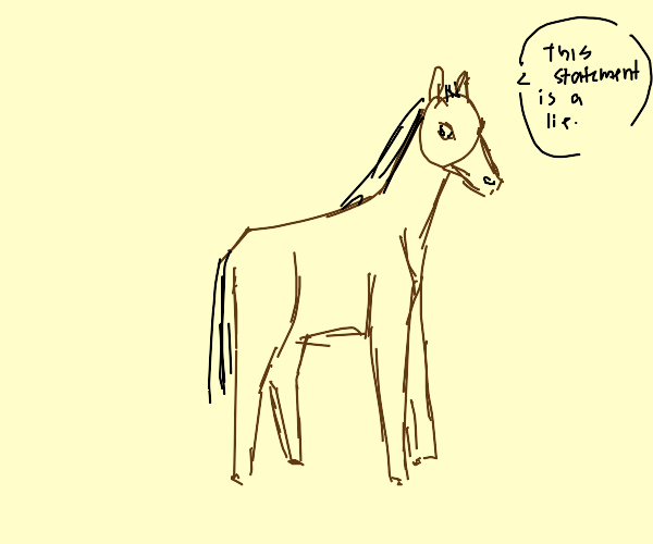 Paradox Horse