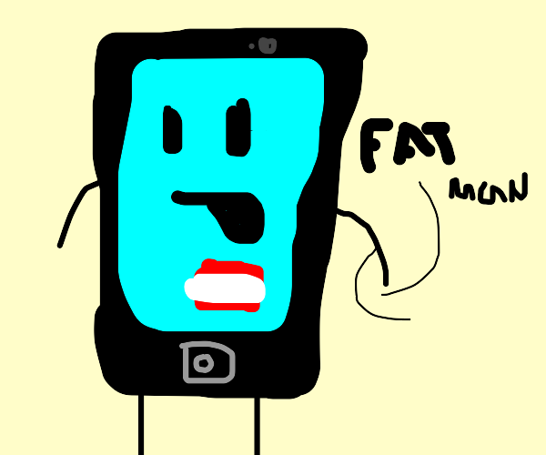 phone called fat man