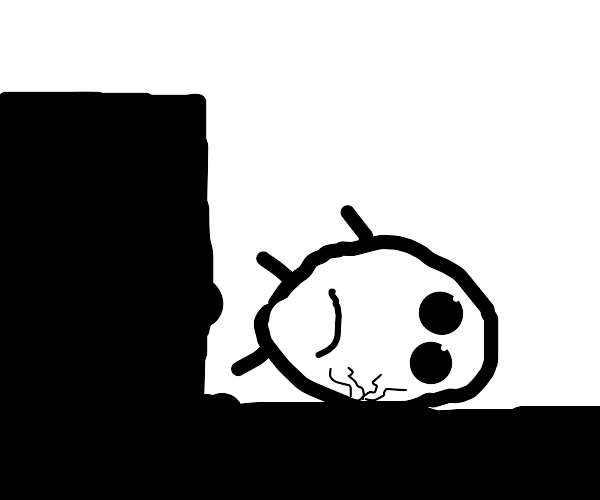 Humpty Dumpty is depressed after falling