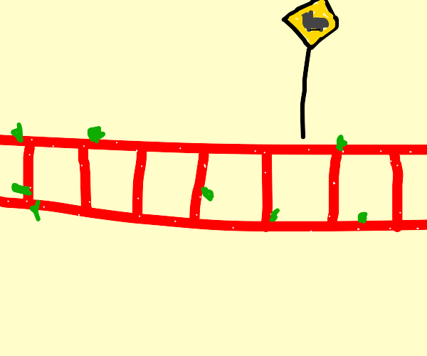 strawberry train track