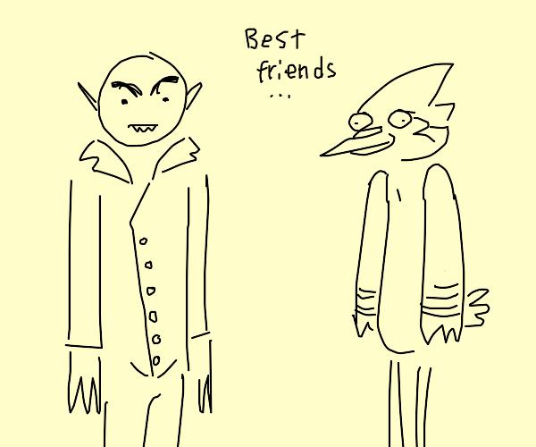 Nosferatu and Mordecai