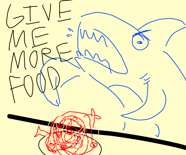 Shark Needs More Food