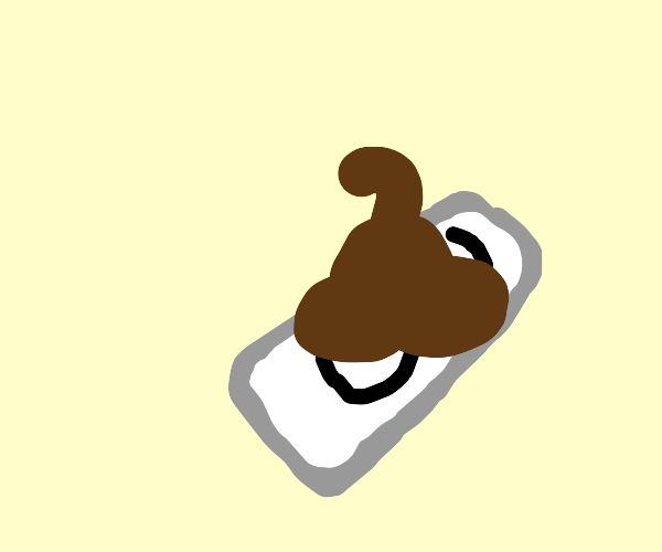 Poop on an iphone 3
