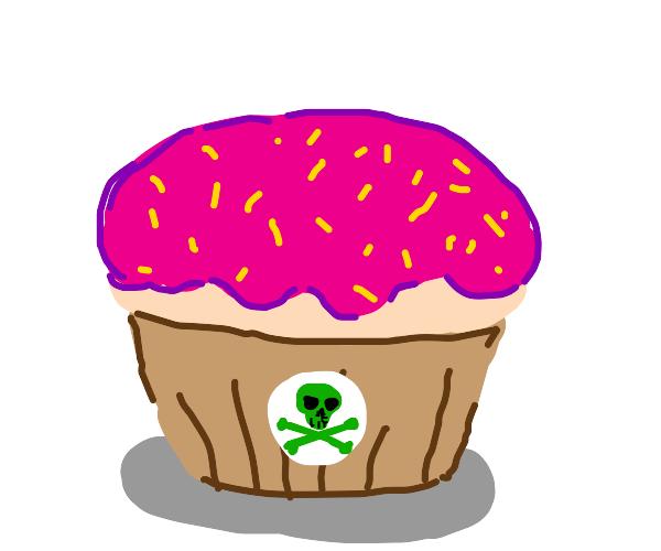 Poisonous cupcake