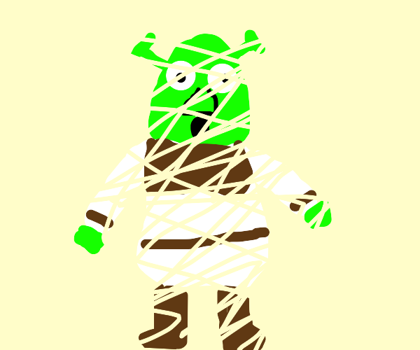 Shredded Shrek
