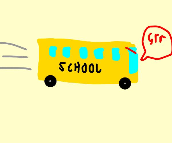 school bus (bad bus)