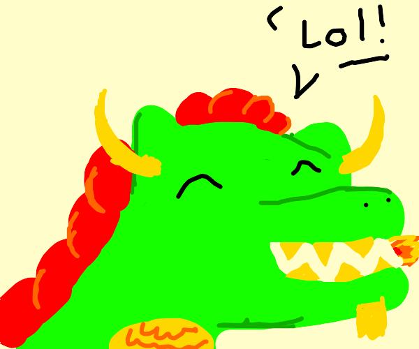 Dragon Laughing
