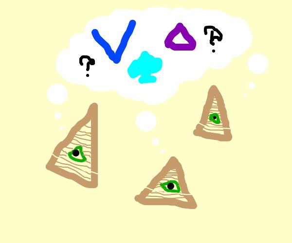 Holy illuminati triangles brainstorming